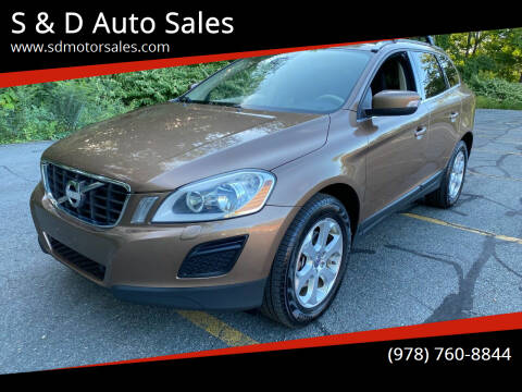 2013 Volvo XC60 for sale at S & D Auto Sales in Maynard MA