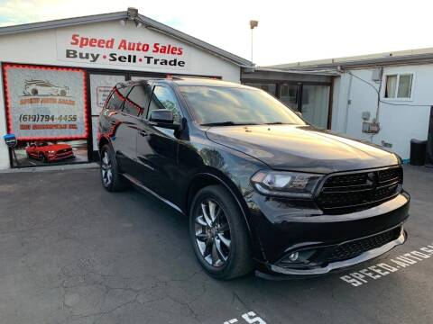 2015 Dodge Durango for sale at Speed Auto Sales in El Cajon CA