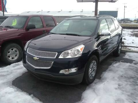2012 Chevrolet Traverse for sale at American Auto Group LLC in Saginaw MI