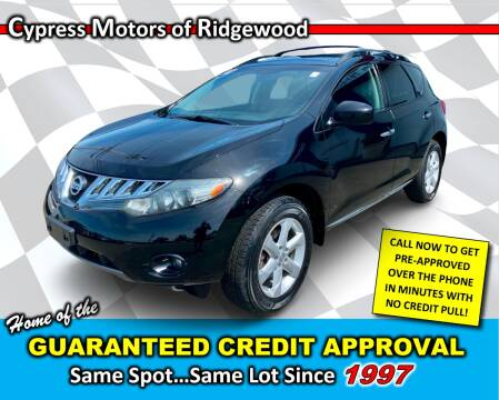 2010 Nissan Murano for sale at Cypress Motors of Ridgewood in Ridgewood NY