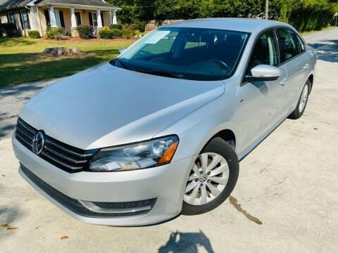 2015 Volkswagen Passat for sale at Cobb Luxury Cars in Marietta GA