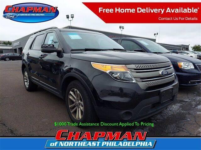 2015 Ford Explorer for sale at CHAPMAN FORD NORTHEAST PHILADELPHIA in Philadelphia PA