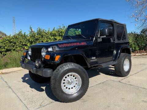 2003 Jeep Wrangler for sale at Auto Hub, Inc. in Anaheim CA