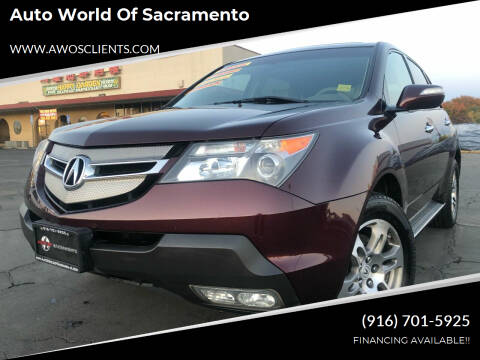 2007 Acura MDX for sale at Auto World of Sacramento Stockton Blvd in Sacramento CA