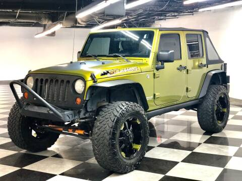 2010 Jeep Wrangler Unlimited for sale at South Florida Jeeps in Fort Lauderdale FL