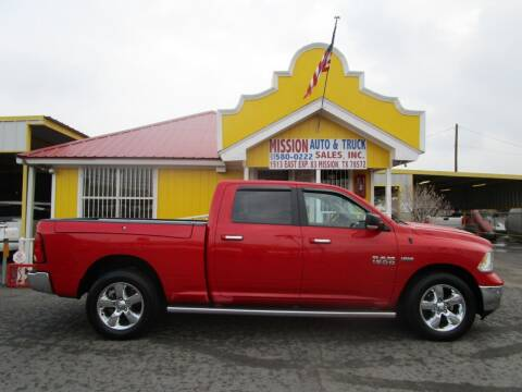 2015 RAM Ram Pickup 1500 for sale at Mission Auto & Truck Sales, Inc. in Mission TX