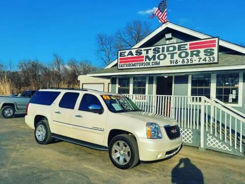 2008 GMC Yukon XL for sale at EASTSIDE MOTORS in Tulsa OK