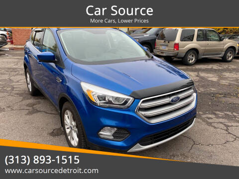 2017 Ford Escape for sale at Car Source in Detroit MI