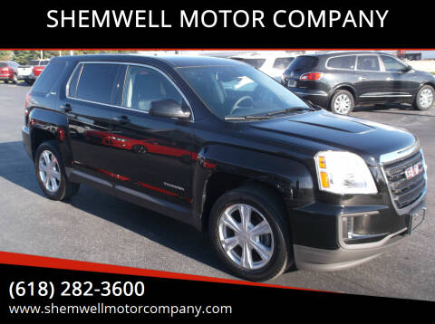 2017 GMC Terrain for sale at SHEMWELL MOTOR COMPANY in Red Bud IL
