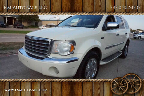 2009 Chrysler Aspen Hybrid for sale at F.M Auto Sale LLC in Dallas TX