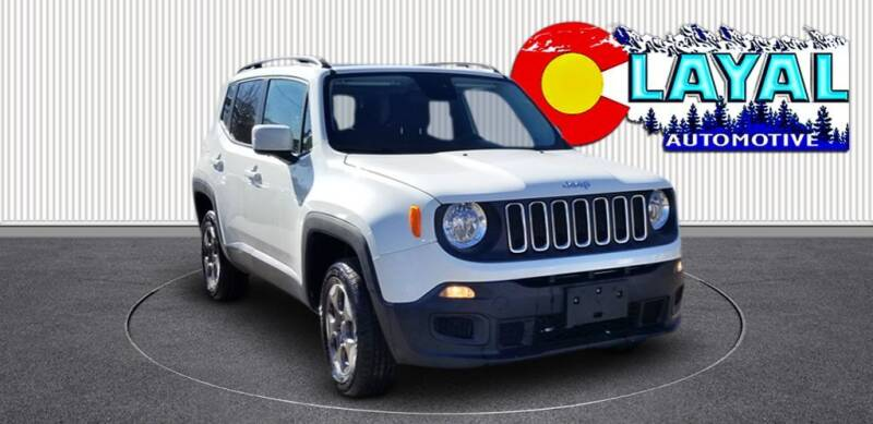 2017 Jeep Renegade for sale at Layal Automotive in Englewood CO