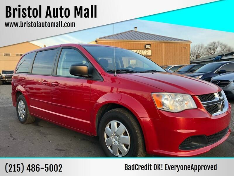 2012 Dodge Grand Caravan for sale at Bristol Auto Mall in Levittown PA