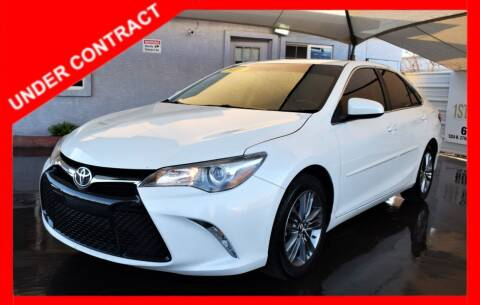 2016 Toyota Camry for sale at 1st Class Motors in Phoenix AZ