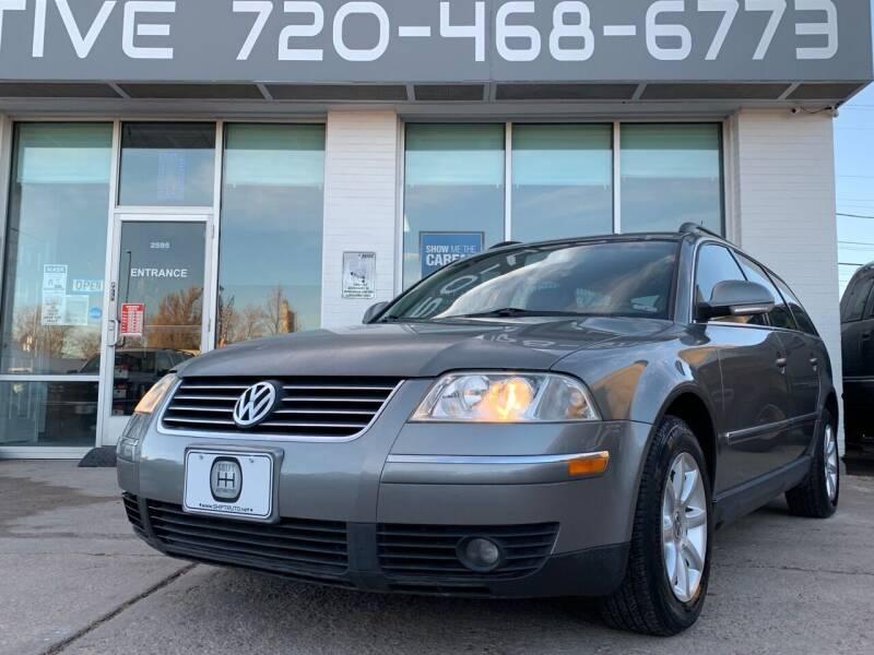 2004 Volkswagen Passat for sale at Shift Automotive in Denver CO