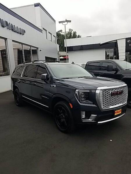 2021 GMC Yukon XL for sale at Chevrolet Buick GMC of Puyallup in Puyallup WA