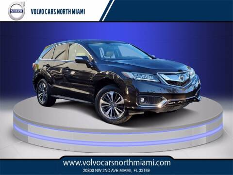 2016 Acura RDX for sale at Volvo Cars North Miami in Miami FL
