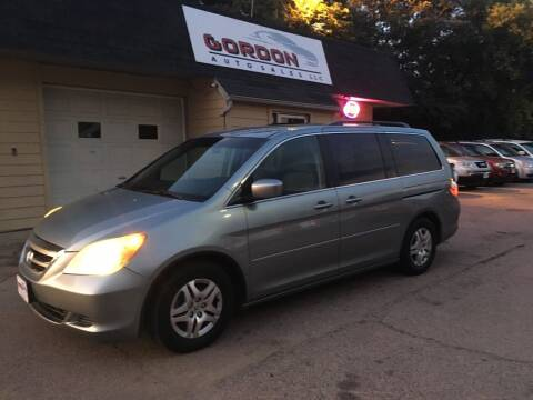 2006 Honda Odyssey for sale at Gordon Auto Sales LLC in Sioux City IA