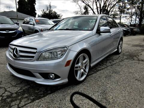 2010 Mercedes-Benz C-Class for sale at New Concept Auto Exchange in Glenolden PA