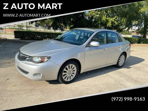 2009 Subaru Impreza for sale at Z AUTO MART in Lewisville TX