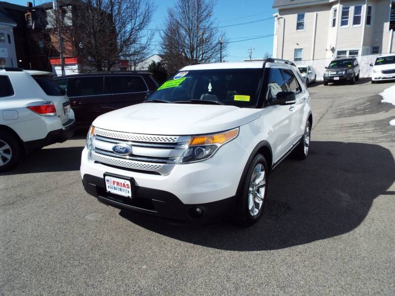 2013 Ford Explorer for sale at FRIAS AUTO SALES LLC in Lawrence MA