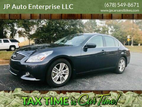 2011 Infiniti G37 Sedan for sale at JP Auto Enterprise LLC in Duluth GA