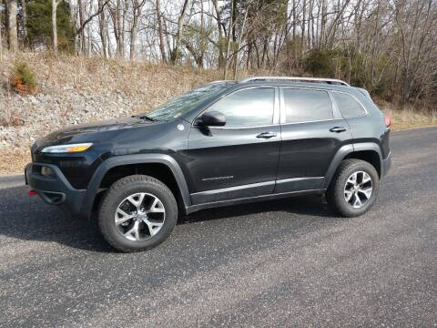 2015 Jeep Cherokee for sale at CARS PLUS in Fayetteville TN