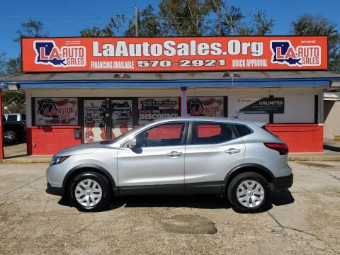 2019 Nissan Rogue Sport for sale at LA Auto Sales in Monroe LA