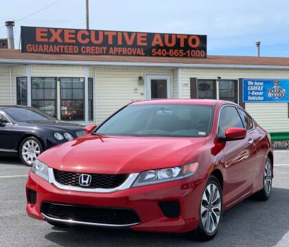 2015 Honda Accord for sale at Executive Auto in Winchester VA