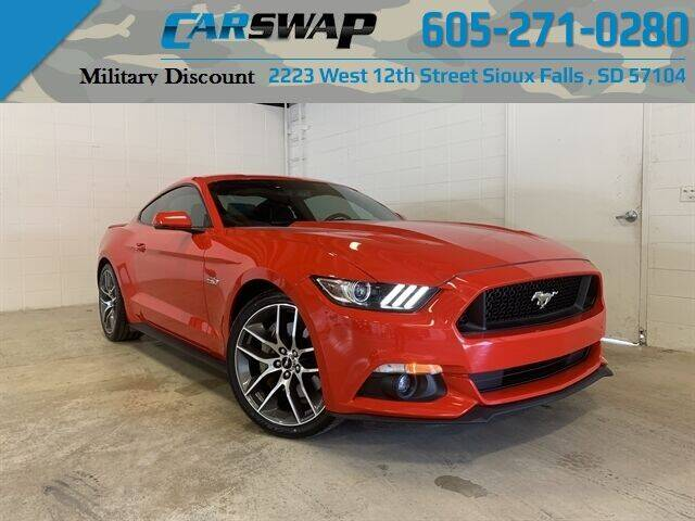 2015 Ford Mustang for sale at CarSwap in Sioux Falls SD