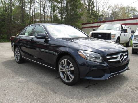 2018 Mercedes-Benz C-Class for sale at Discount Auto Sales in Pell City AL