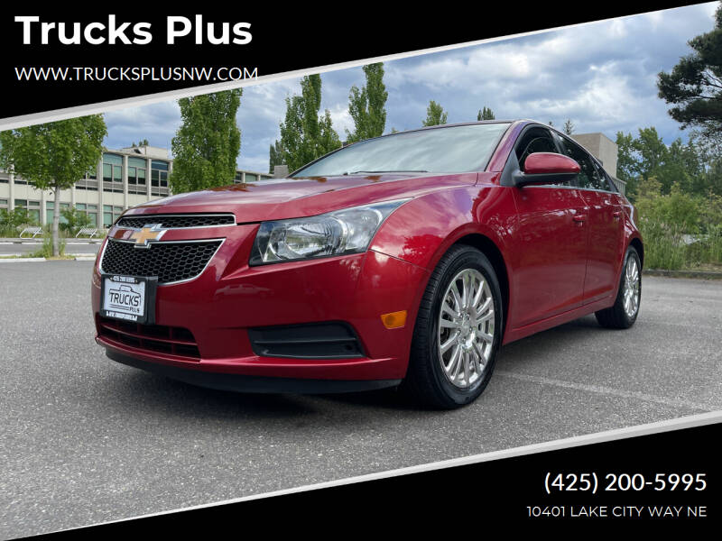 2013 Chevrolet Cruze for sale at Trucks Plus in Seattle WA