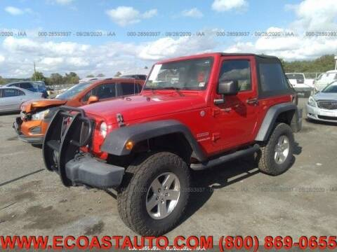 2010 Jeep Wrangler for sale at East Coast Auto Source Inc. in Bedford VA