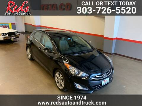 2014 Hyundai Elantra GT for sale at Red's Auto and Truck in Longmont CO