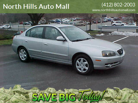 2005 Hyundai Elantra for sale at North Hills Auto Mall in Pittsburgh PA