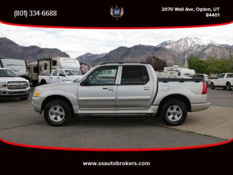 2005 Ford Explorer Sport Trac for sale at S S Auto Brokers in Ogden UT