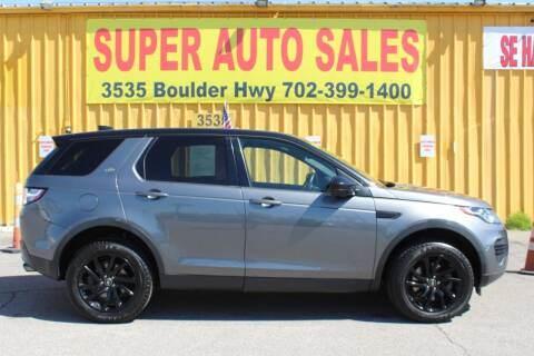 2017 Land Rover Discovery Sport for sale at Super Auto Sales in Las Vegas NV