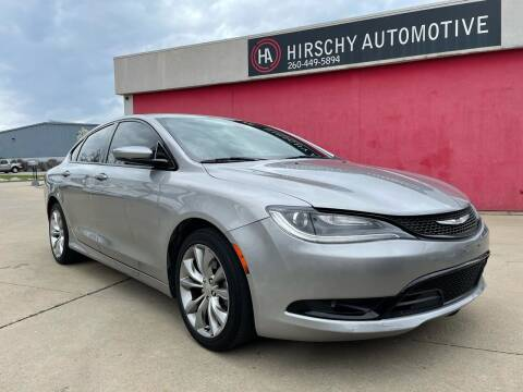 2015 Chrysler 200 for sale at Hirschy Automotive in Fort Wayne IN