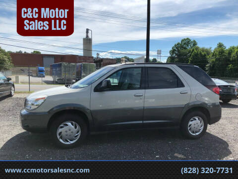 2004 Buick Rendezvous for sale at C&C Motor Sales LLC in Hudson NC