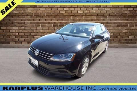 2017 Volkswagen Jetta for sale at Karplus Warehouse in Pacoima CA