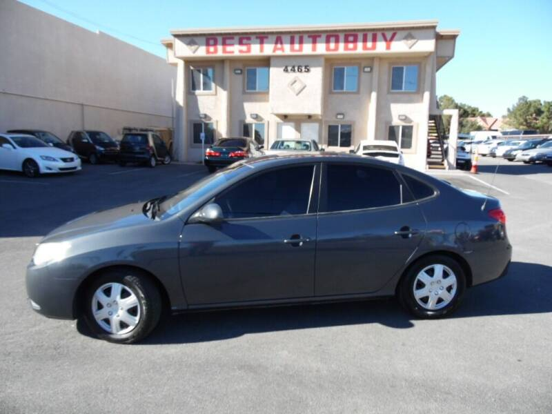 2007 Hyundai Elantra for sale at Best Auto Buy in Las Vegas NV