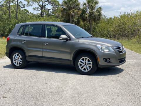 2011 Volkswagen Tiguan for sale at D & D Used Cars in New Port Richey FL