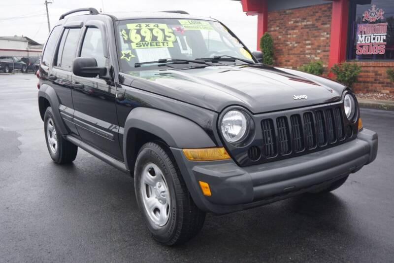 2007 Jeep Liberty for sale at Premium Motors in Louisville KY