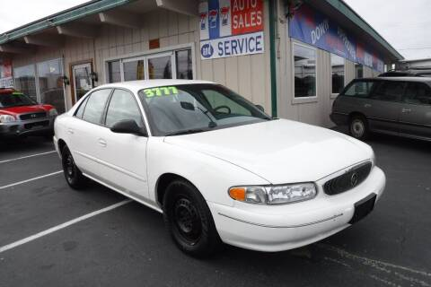 2003 Buick Century for sale at 777 Auto Sales and Service in Tacoma WA