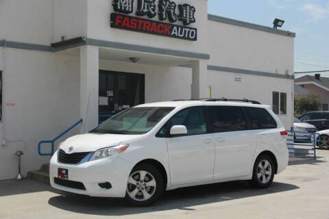 2014 Toyota Sienna for sale at Fastrack Auto Inc in Rosemead CA