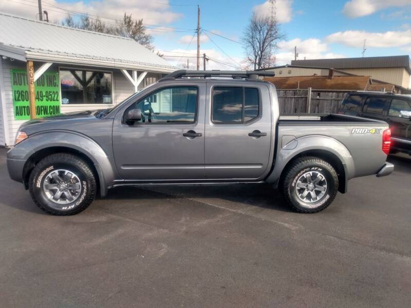 2019 Nissan Frontier for sale at Auto Pro Inc in Fort Wayne IN