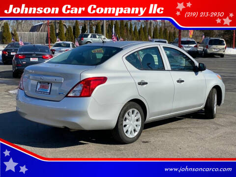 2014 Nissan Versa for sale at Johnson Car Company llc in Crown Point IN