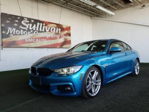 2018 BMW 4 Series for sale at SULLIVAN MOTOR COMPANY INC. in Mesa AZ