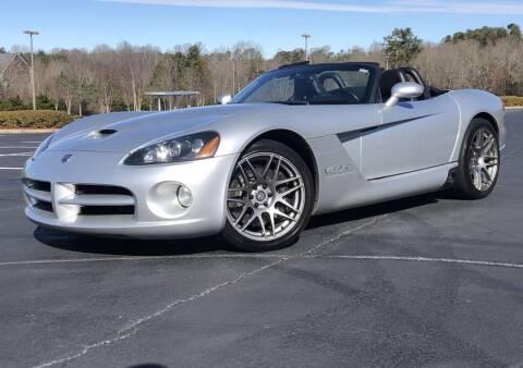 2003 Dodge Viper for sale at el camino auto sales in Gainesville GA