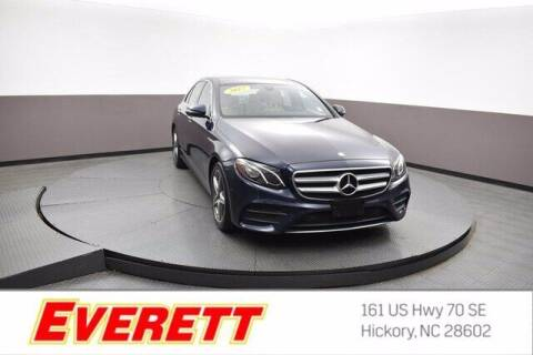 2017 Mercedes-Benz E-Class for sale at Everett Chevrolet Buick GMC in Hickory NC