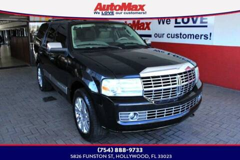 2011 Lincoln Navigator for sale at Auto Max in Hollywood FL